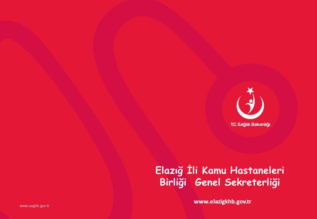Elazığ İli Kamu Hastaneleri Birliği Genel Sekreterliği