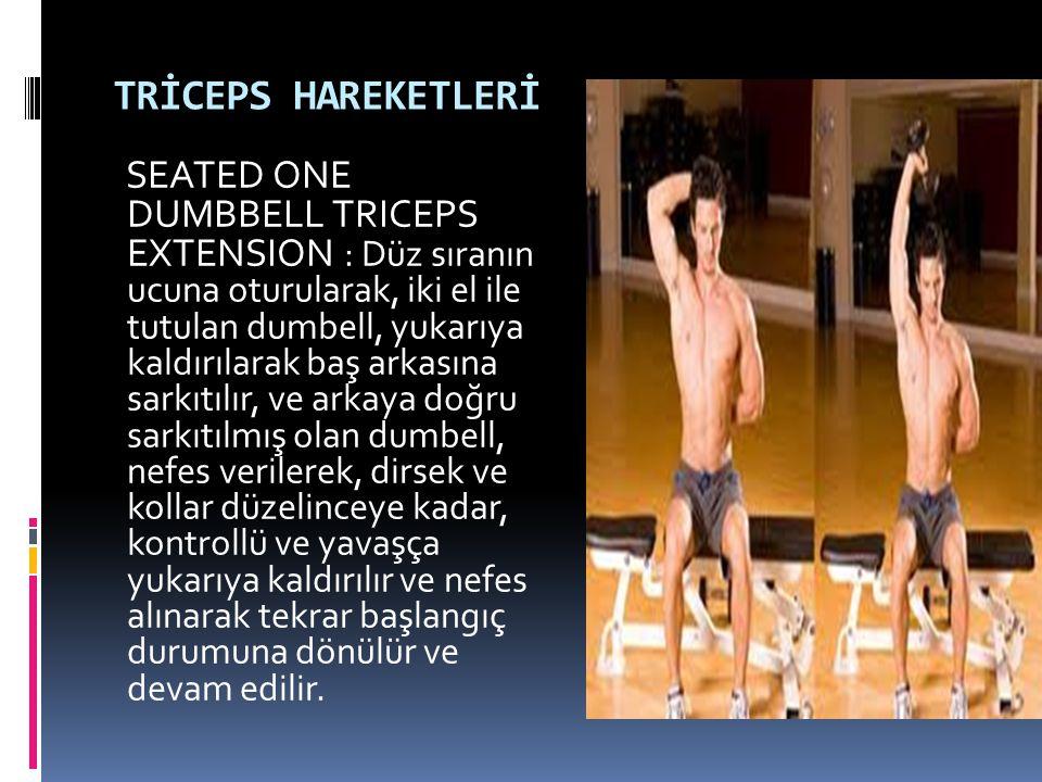 TRİCEPS HAREKETLERİ