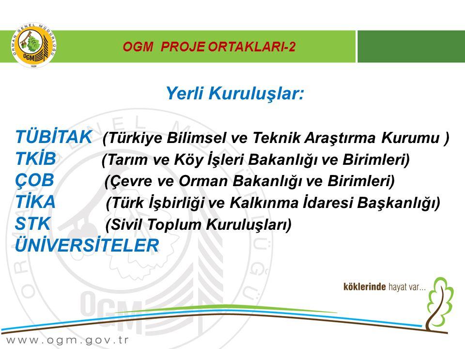 TÜBİTAK (Türkiye Bilimsel ve Teknik Araştırma Kurumu )