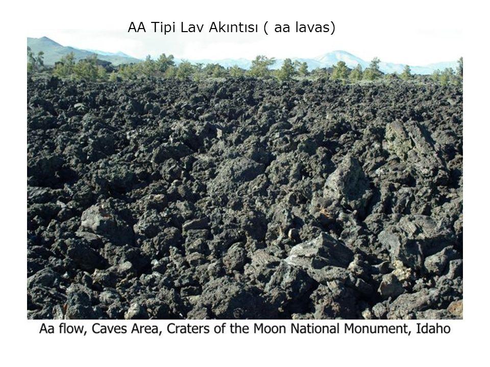 AA Tipi Lav Akıntısı ( aa lavas)