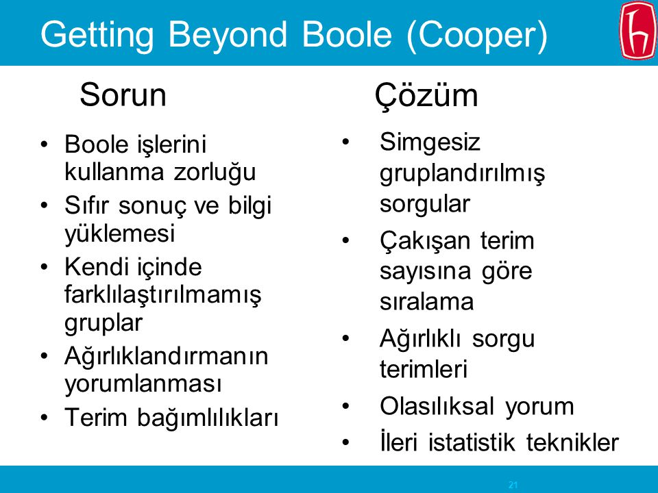 Getting Beyond Boole (Cooper)