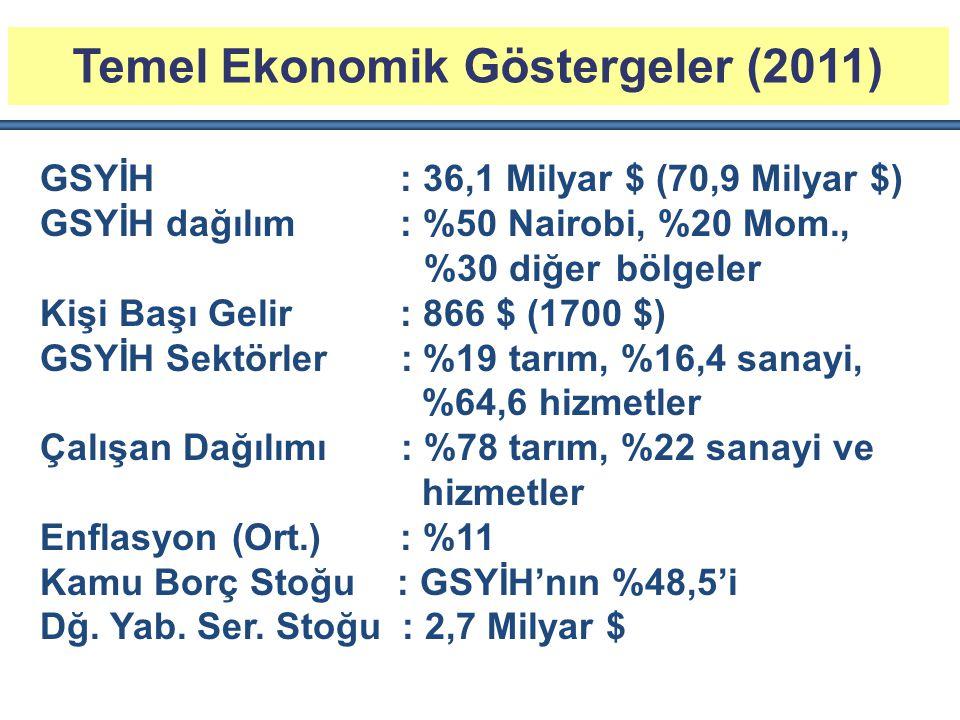 Temel Ekonomik Göstergeler (2011)