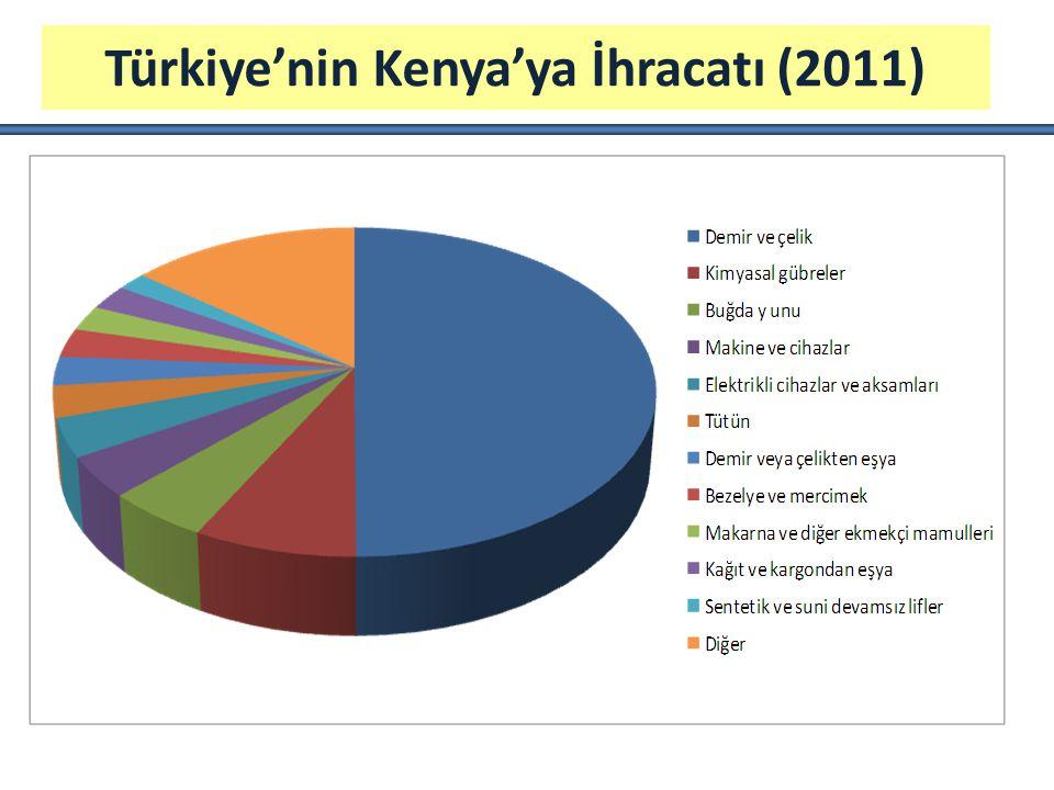 Türkiye'nin Kenya'ya İhracatı (2011)