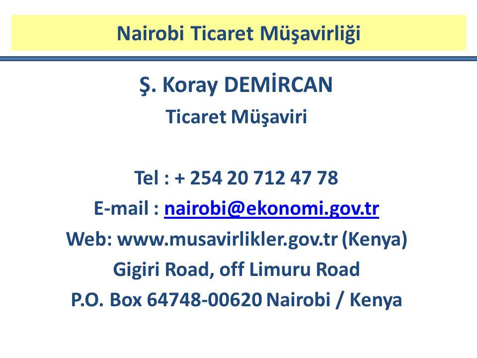 Nairobi Ticaret Müşavirliği