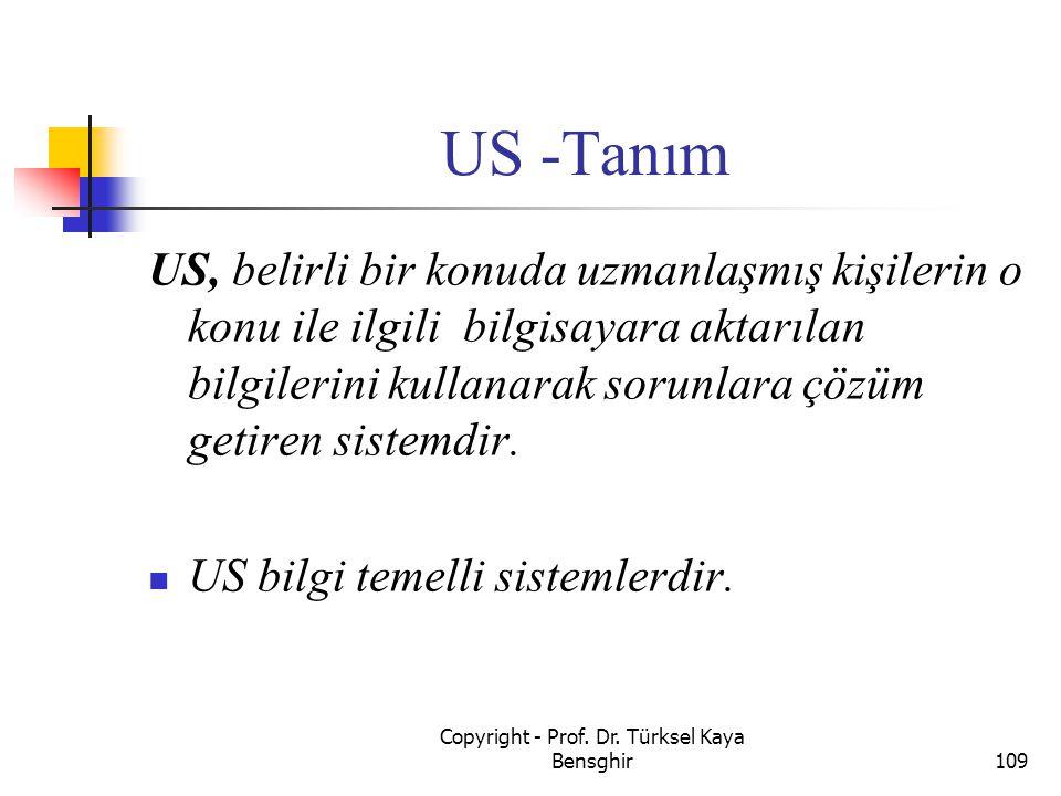 Copyright - Prof. Dr. Türksel Kaya Bensghir
