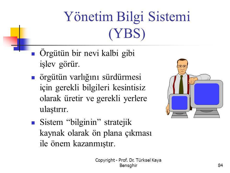 Yönetim Bilgi Sistemi (YBS)