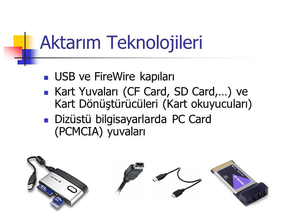 Aktarım Teknolojileri