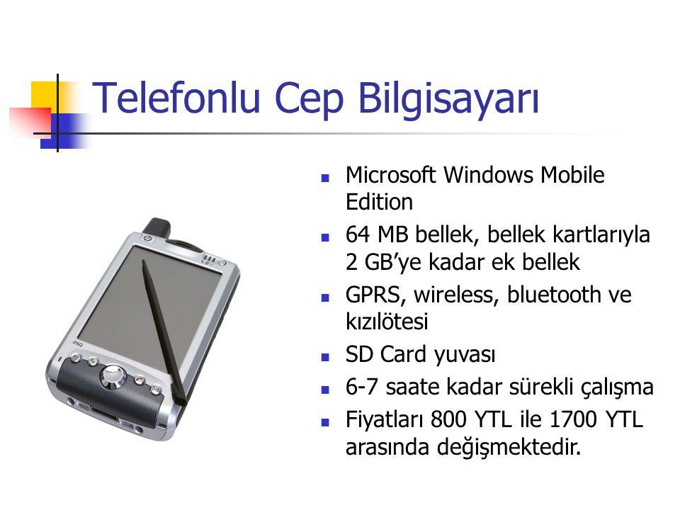 Telefonlu Cep Bilgisayarı