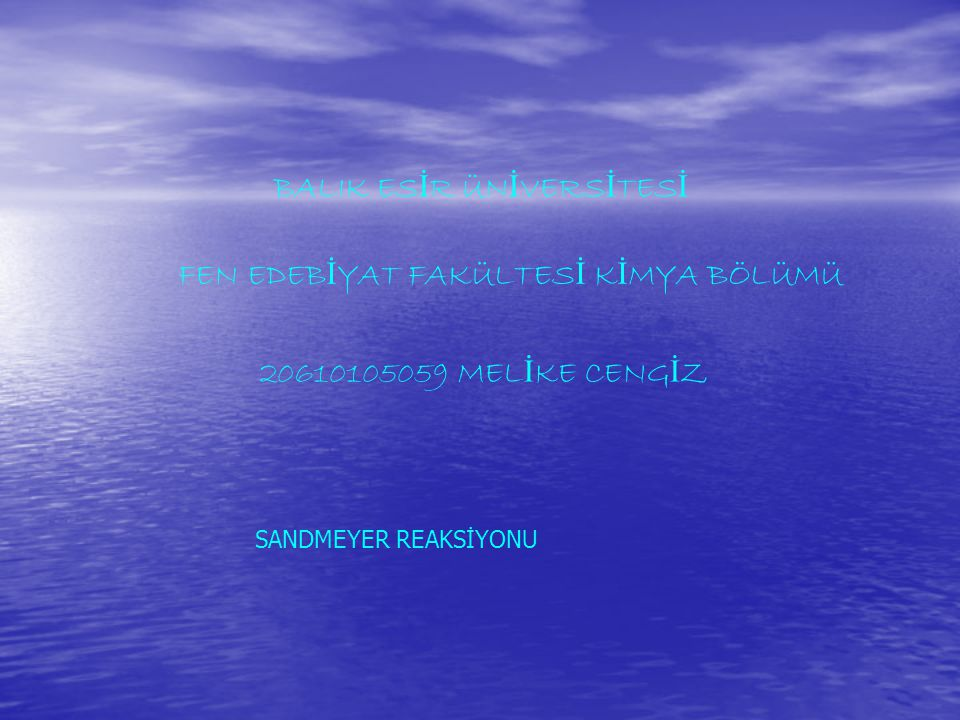 BALIK ESİR ÜNİVERSİTESİ