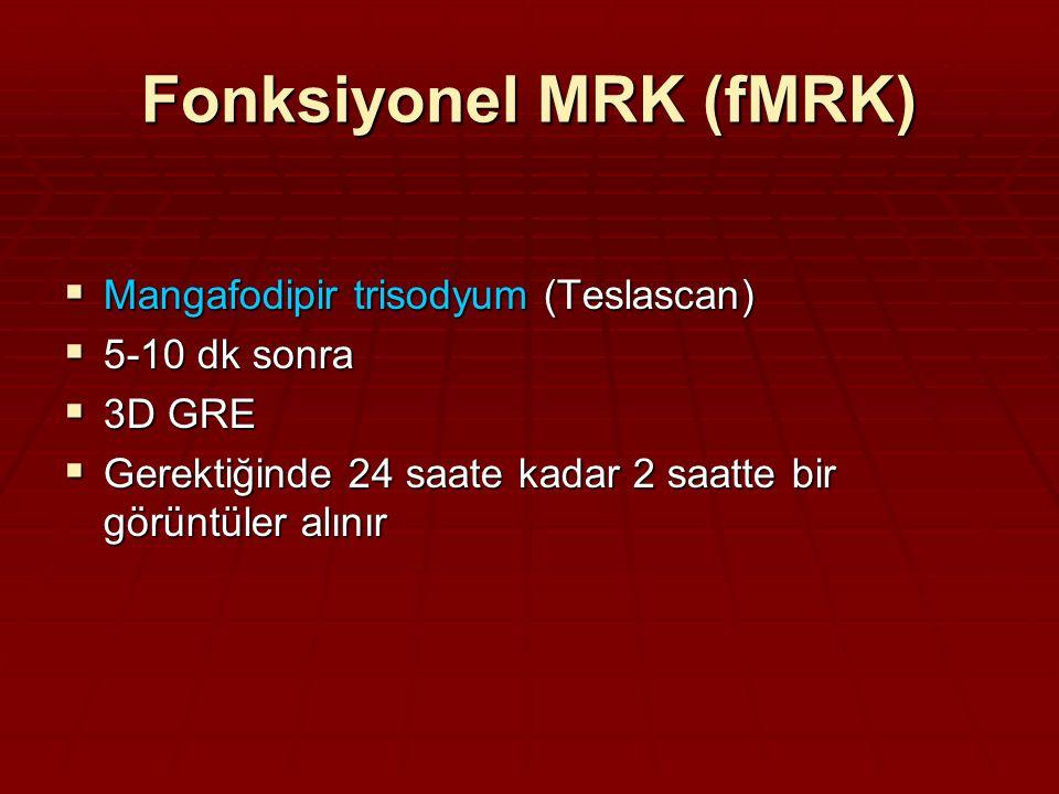 Fonksiyonel MRK (fMRK)