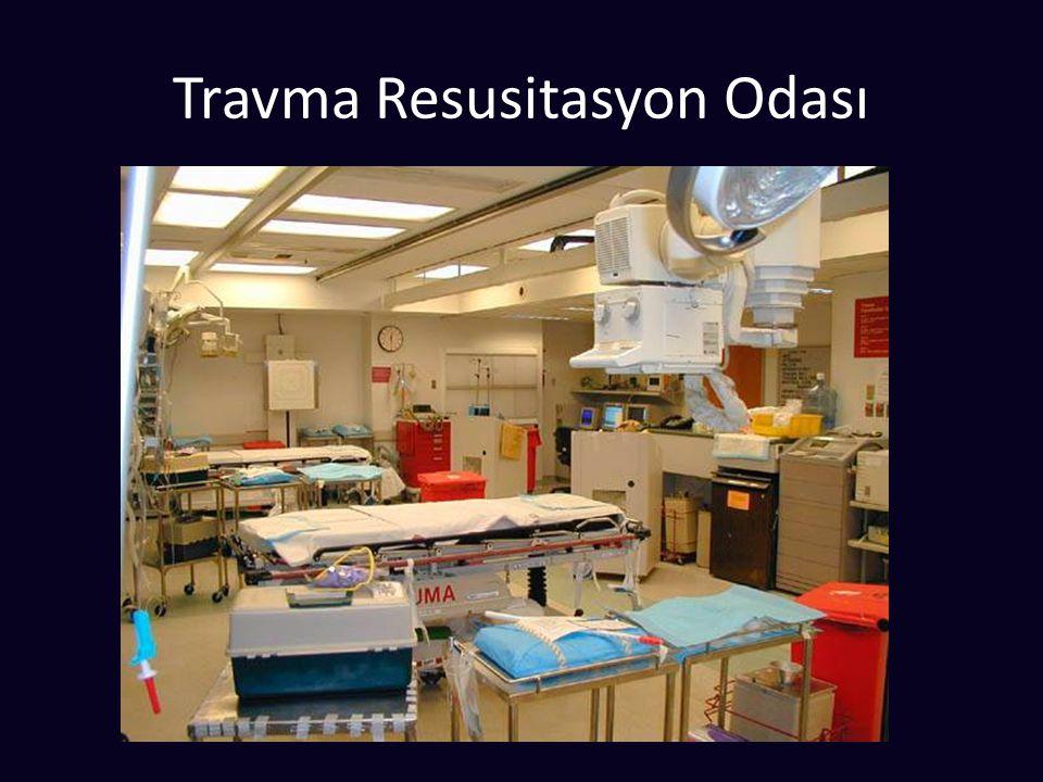 Travma Resusitasyon Odası