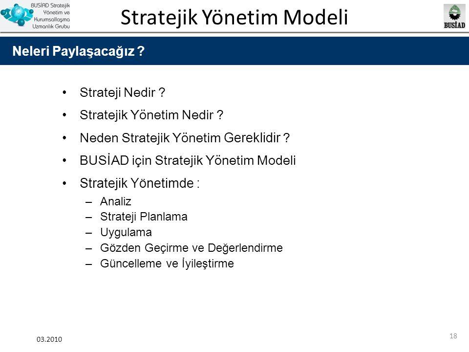 Stratejik Yönetim Nedir Neden Stratejik Yönetim Gereklidir