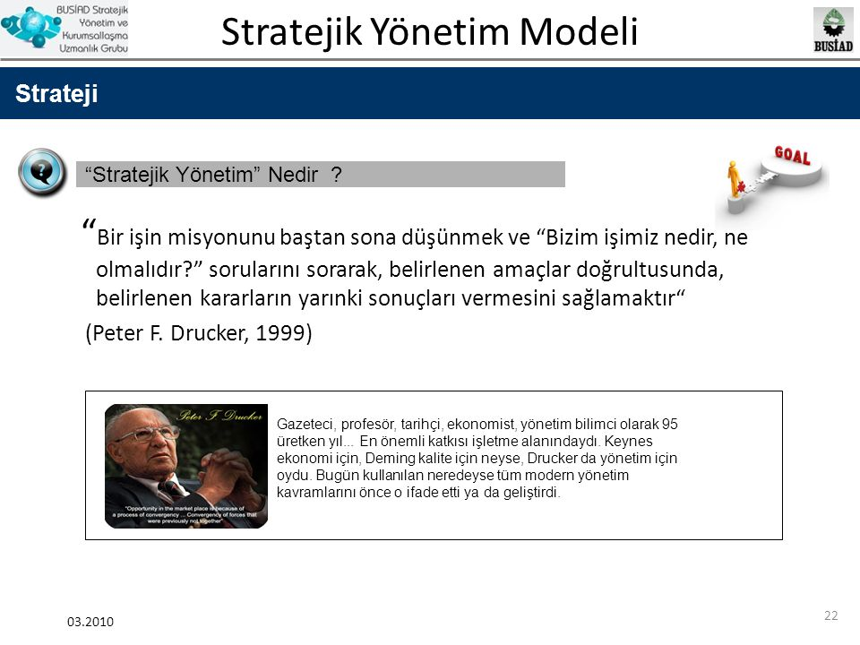 Strateji Stratejik Yönetim Nedir