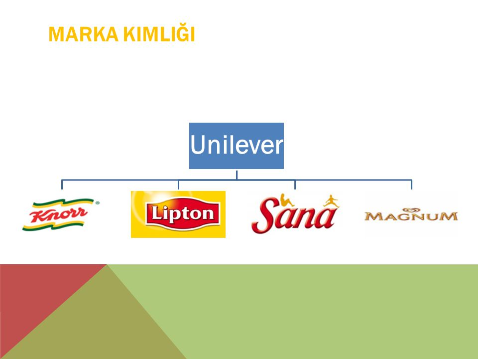Marka Kimliği Unilever
