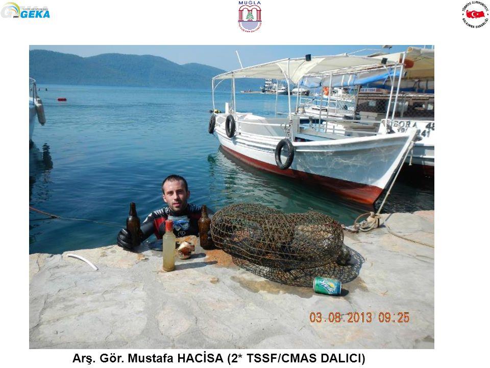Arş. Gör. Mustafa HACİSA (2* TSSF/CMAS DALICI)