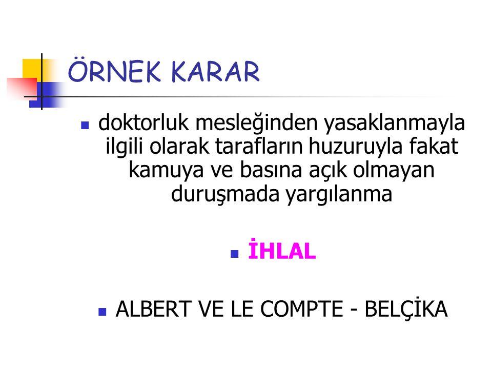 ALBERT VE LE COMPTE - BELÇİKA