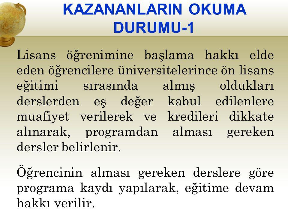 KAZANANLARIN OKUMA DURUMU-1