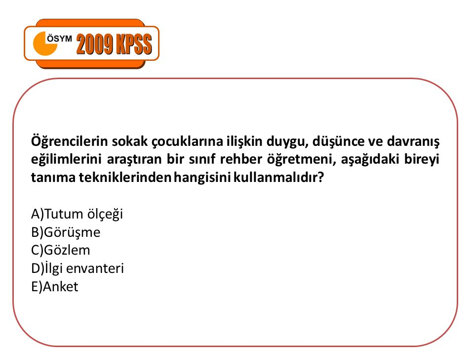 2009 KPSS