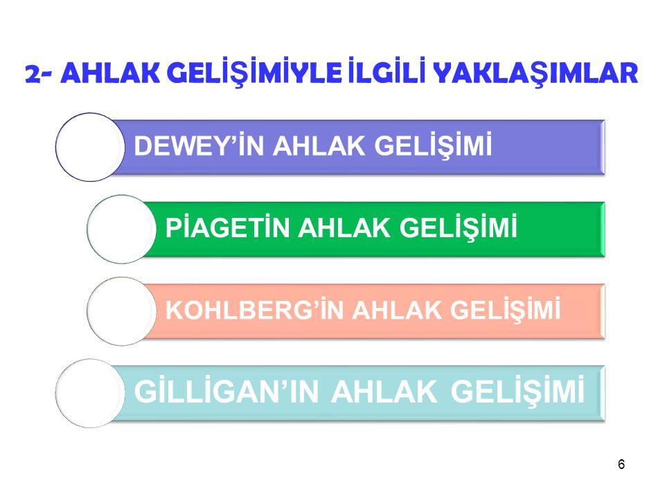 GİLLİGAN'IN AHLAK GELİŞİMİ