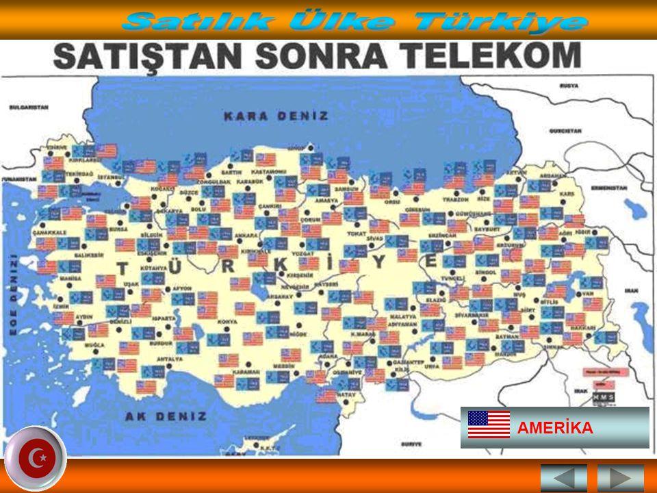 Satılık Ülke Türkiye AMERİKA