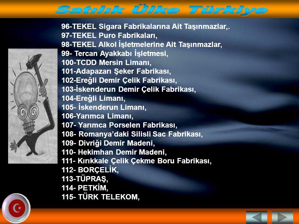 Satılık Ülke Türkiye