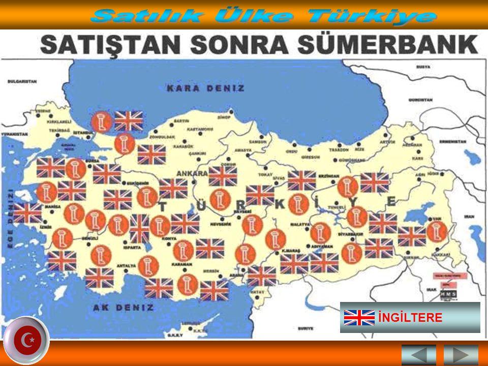 Satılık Ülke Türkiye İNGİLTERE