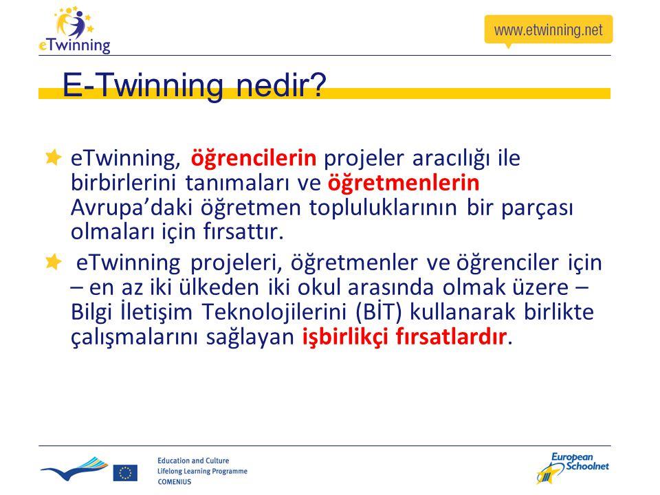 E-Twinning nedir