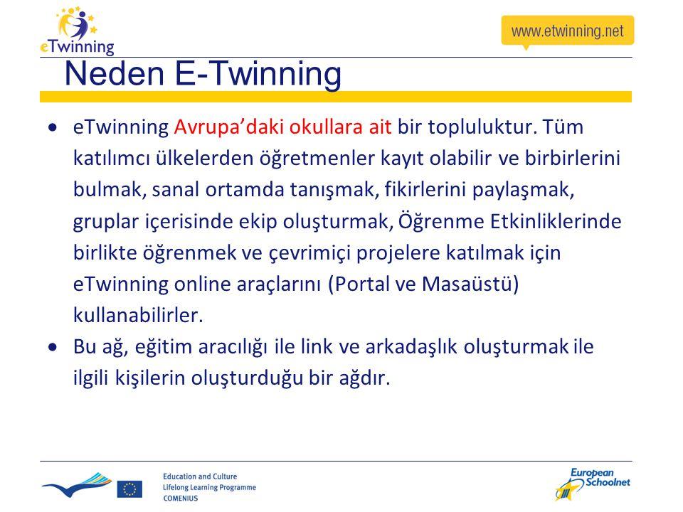 Neden E-Twinning