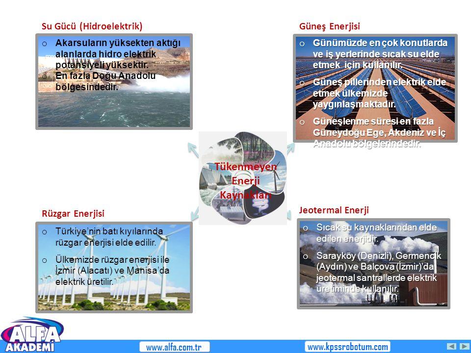 Tükenmeyen Enerji Kaynakları