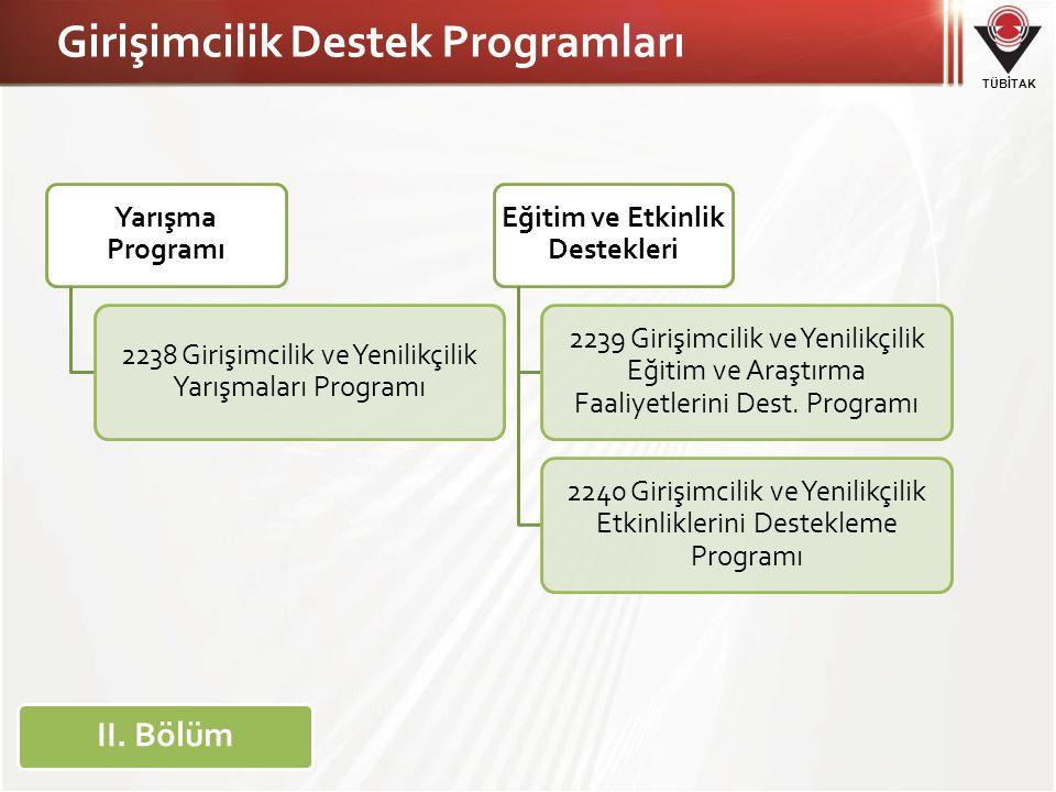 Girişimcilik Destek Programları