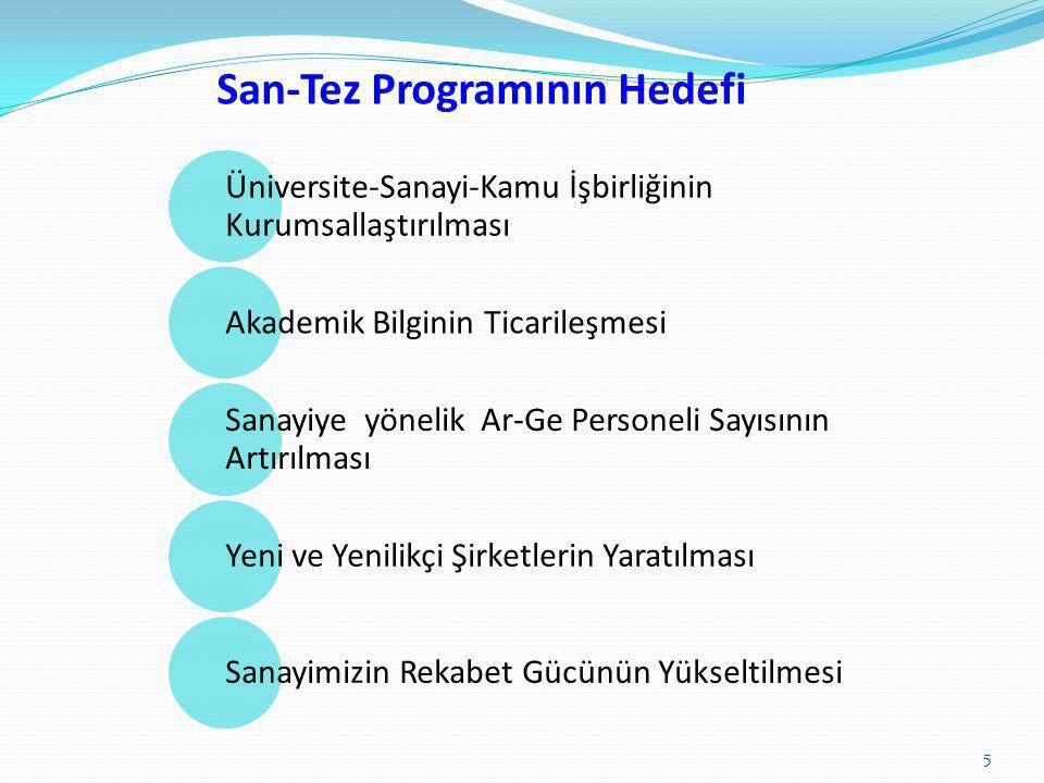 San-Tez Programının Hedefi