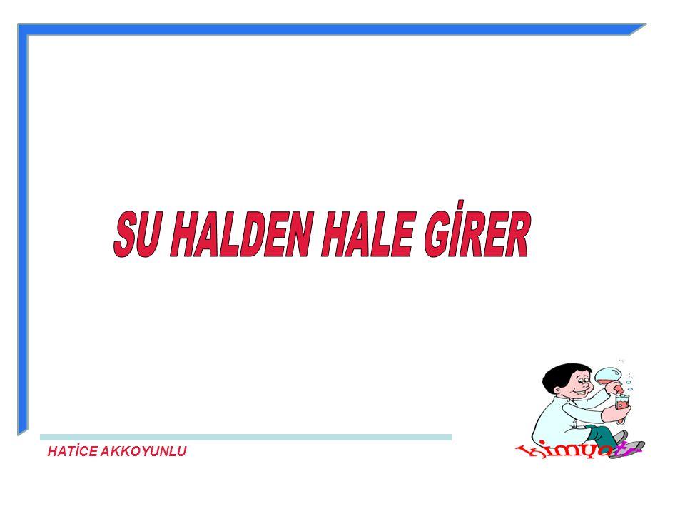 SU HALDEN HALE GİRER HATİCE AKKOYUNLU