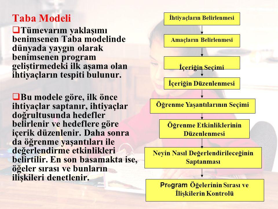 Taba Modeli