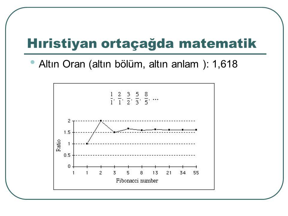 Hıristiyan ortaçağda matematik