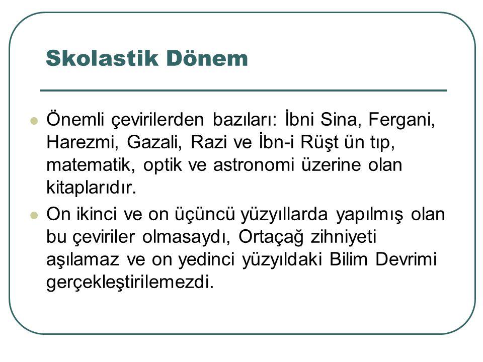 Skolastik Dönem 9.