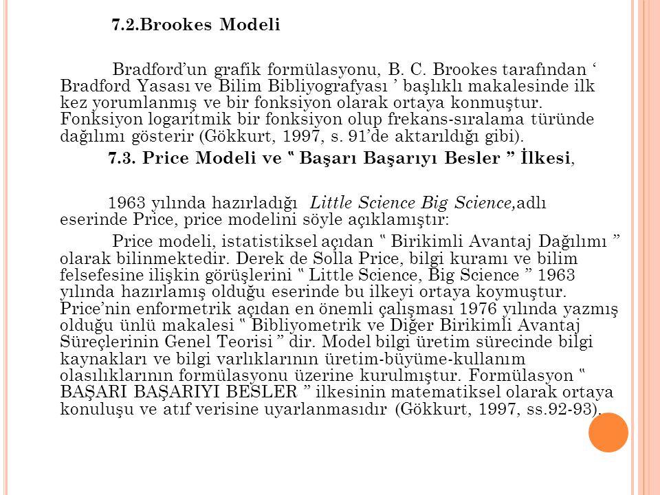 7.2.Brookes Modeli