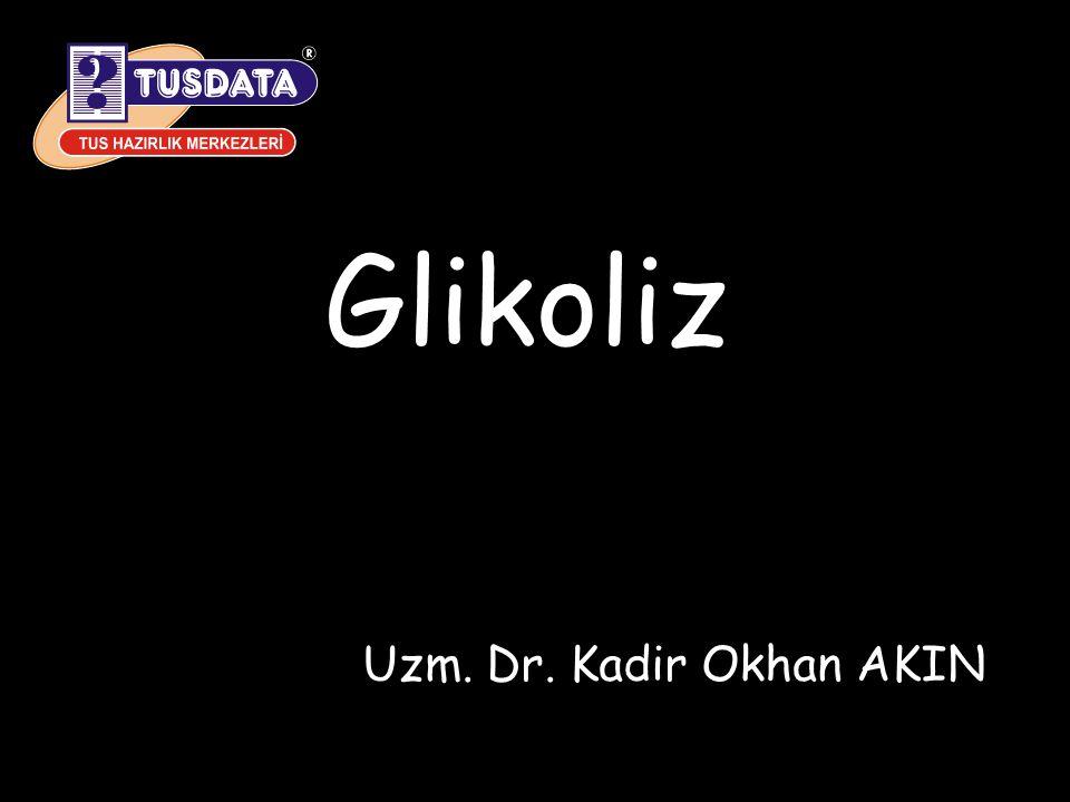 Glikoliz Uzm. Dr. Kadir Okhan AKIN