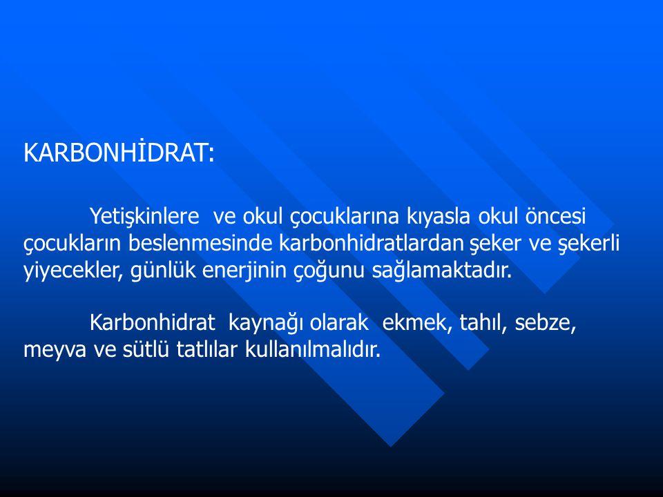 KARBONHİDRAT: