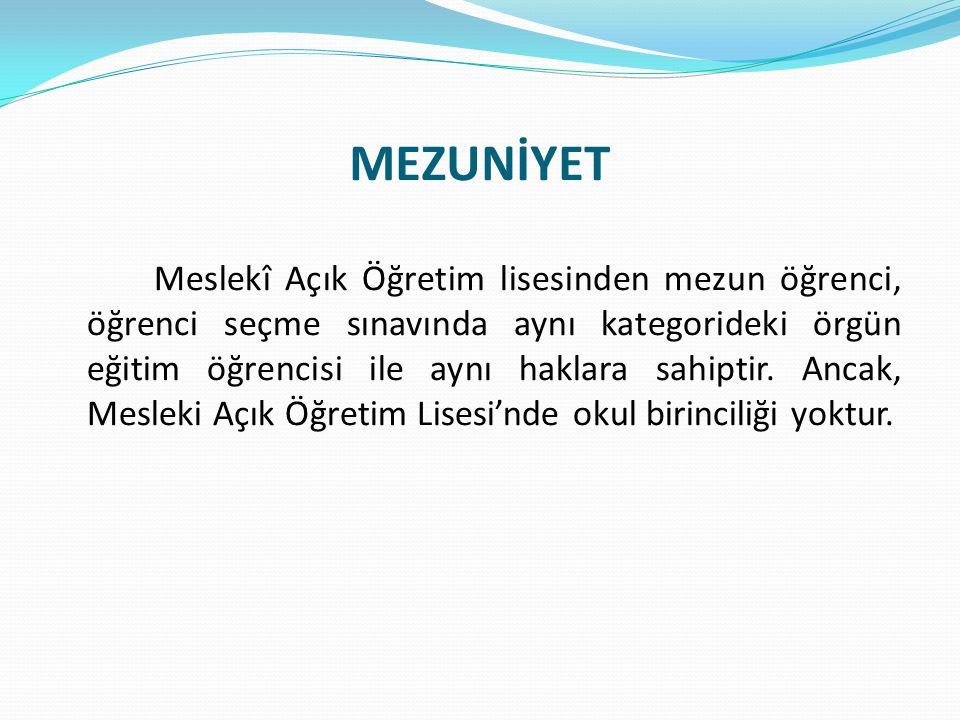 MEZUNİYET