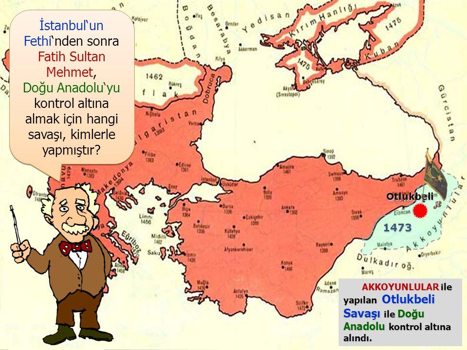 İstanbul'un Fethi'nden sonra Fatih Sultan Mehmet,
