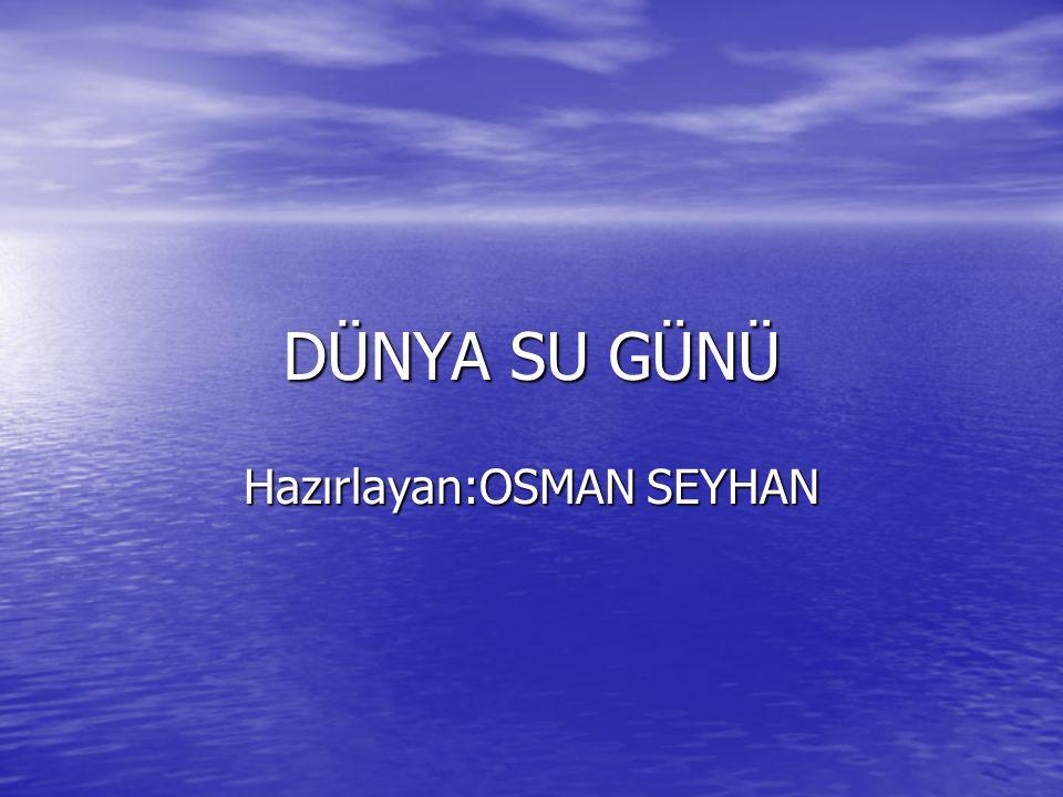 Hazırlayan:OSMAN SEYHAN