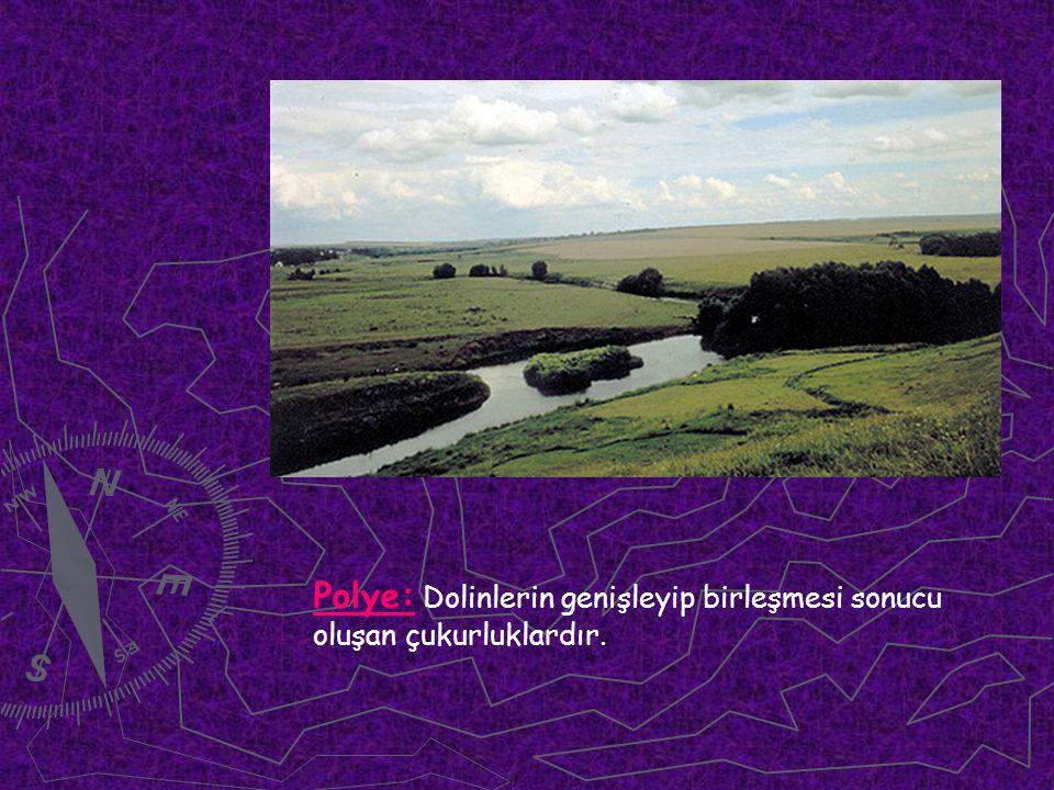 Polye: Dolinlerin genişleyip birleşmesi sonucu