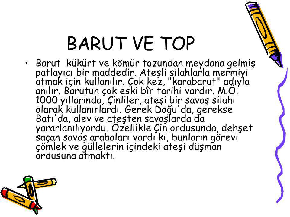 BARUT VE TOP