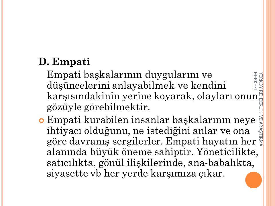 D. Empati