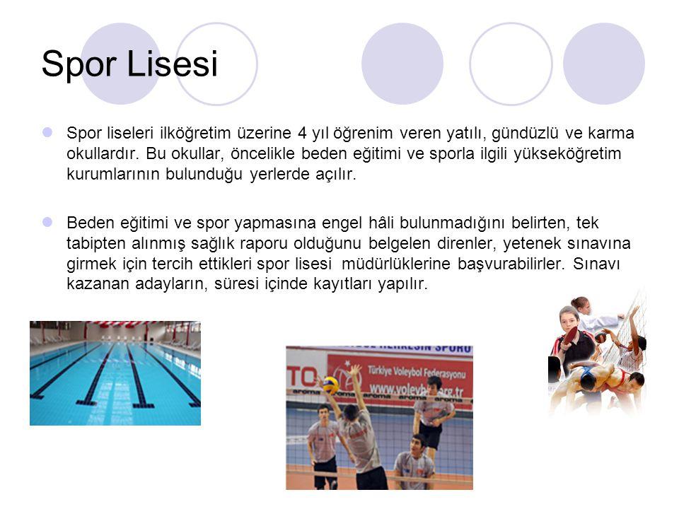 Spor Lisesi