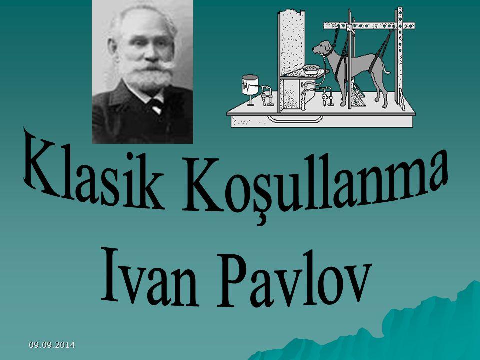 Klasik Koşullanma Ivan Pavlov 06.04.2017