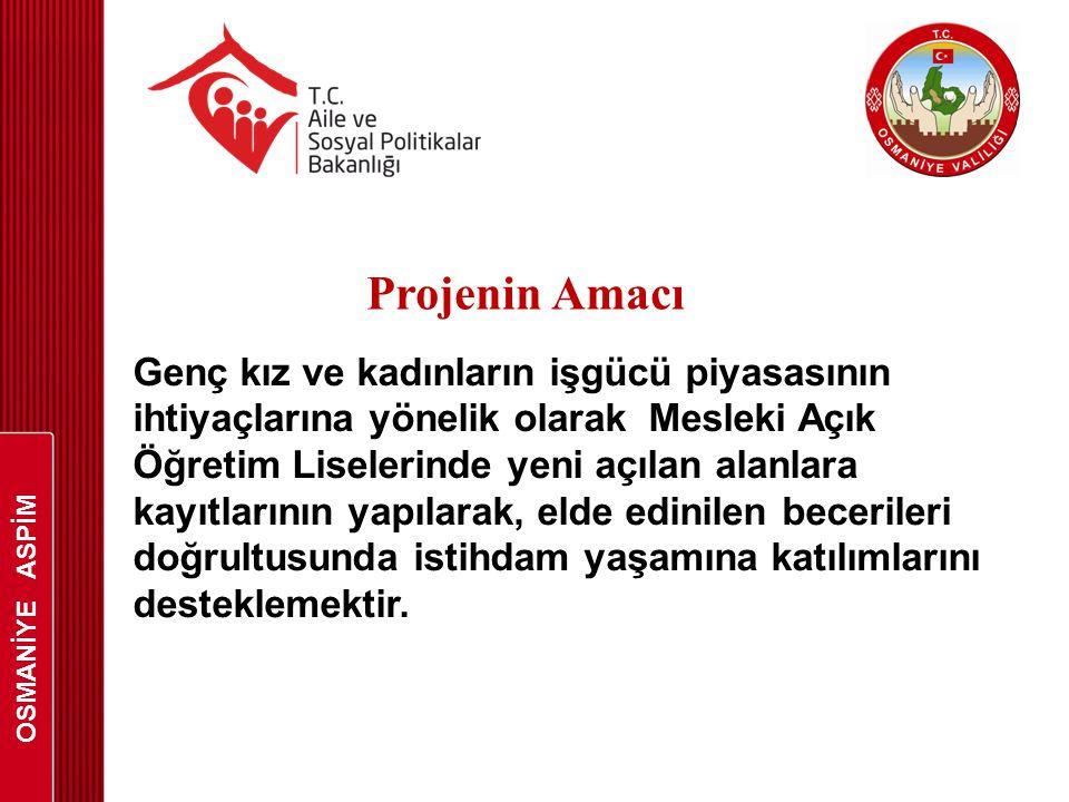 OSMANİYE ASPİM Projenin Amacı.