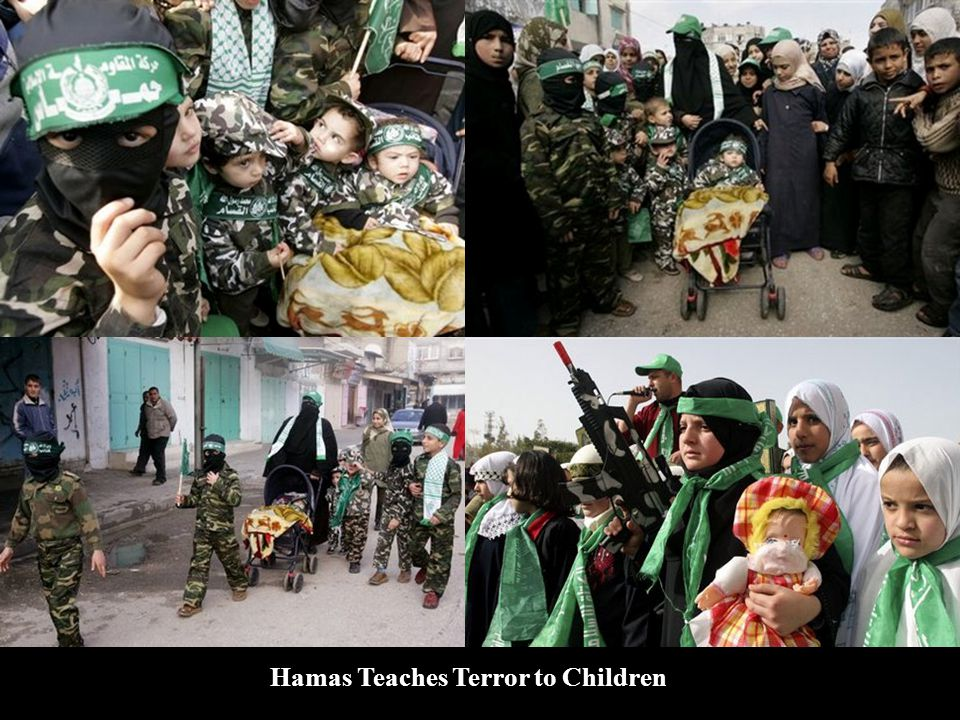Hamas Teaches Terror to Children