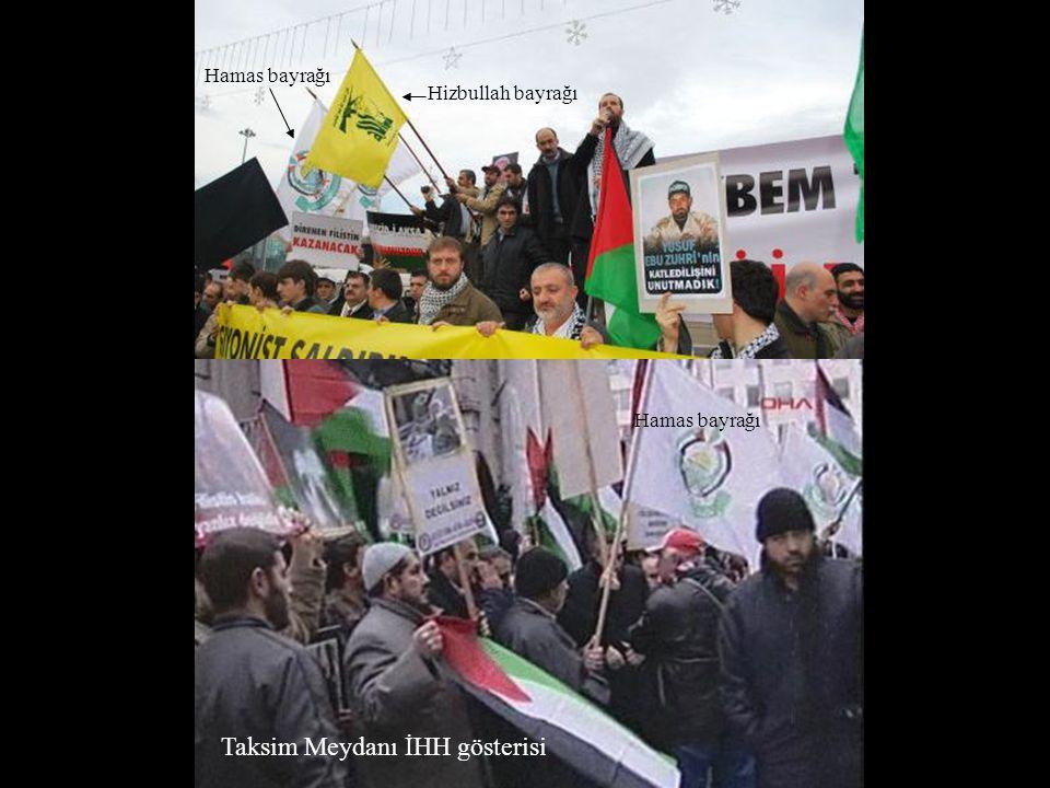 Taksim Meydanı İHH gösterisi