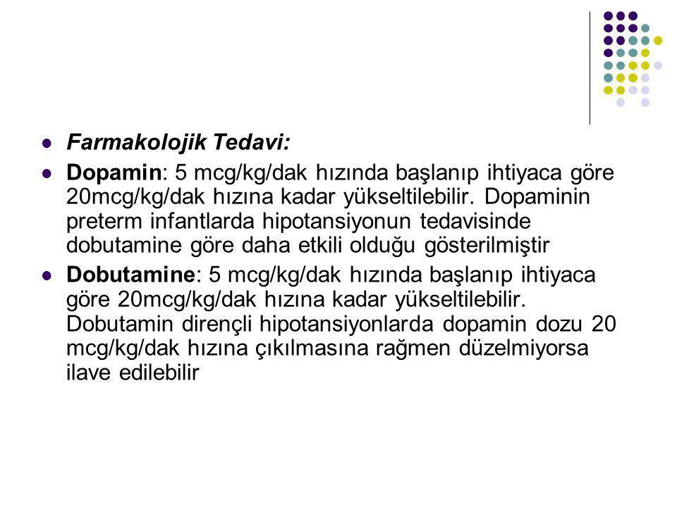 Farmakolojik Tedavi: